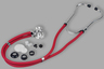 Veridian Sprague Rappaport-type Stethoscope, Red