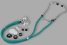 Veridian Sprague Rappaport-type Stethoscope, Teal