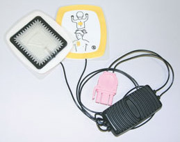 Physio-Control Replacement Reduced Energy Debifrillation Electrodes, Infant/Pediatric
