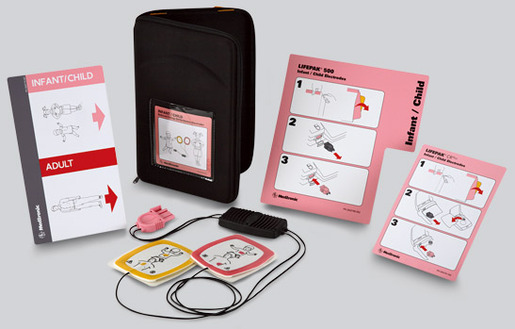 Physio Control LIFEPAK<sup>®</sup> CR-T AED Trainer, Infant/Child Starter Kit