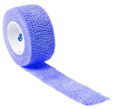 Curaplex<sup>®</sup> Cohesive Elastic Bandage, Blue, 1&rdquo; x 5yd