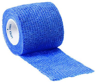 Curaplex<sup>®</sup> Cohesive Elastic Bandage, Blue, 2&rdquo; x 5yd