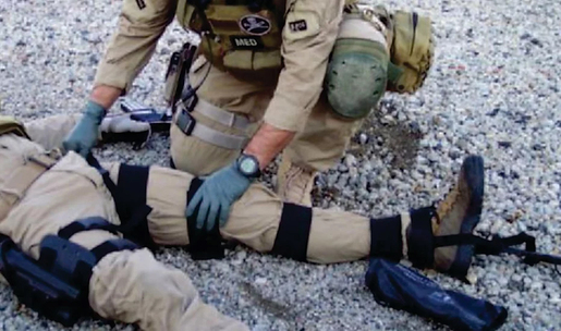 FareTec<sup>®</sup> CT-6 Military Carbon Leg Traction Splint