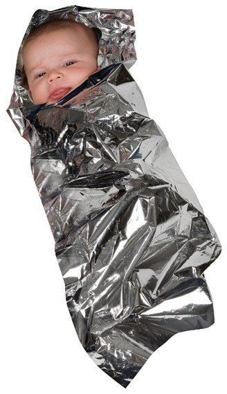 Isothermal Foil Baby Bunting Blanket