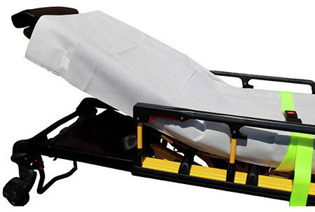 Disposable Extra Heavy Fitted Stretcher Sheets