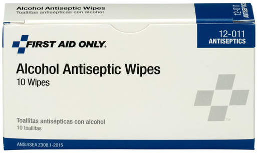 First Aid Only<sup>®</sup> Pac-Kit Alcohol Antiseptic Wipes