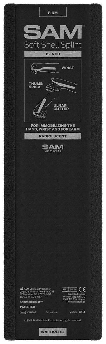 SAM<sup>®</sup> Splint Soft Shell Splint