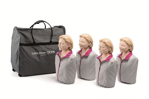 Laerdal Little Anne QCPR 4-pack, Light