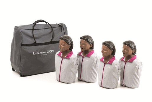 Laerdal Little Anne QCPR 4-pack, Dark