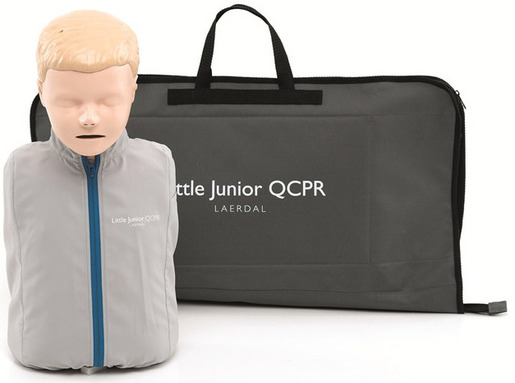Laerdal Little Junior Manikin with QCPR