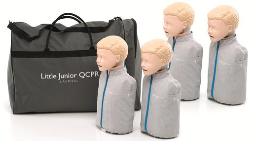Laerdal Little Junior Manikin with QCPR