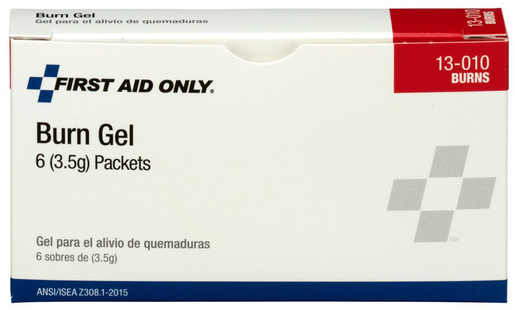 First Aid Only<sup>®</sup> Pac-Kit Burn Gel Packets