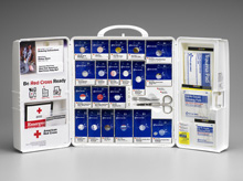 First Aid Only<sup>®</sup> Food Industry First Aid Cabinet with SmartTab ezRefill System, Large