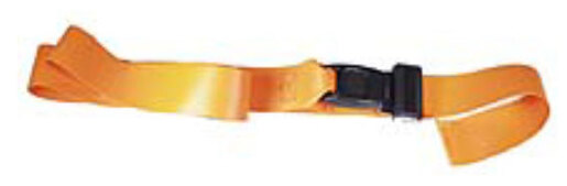 Morrison 1-piece Impervious Backboard Straps with Metal Push Button Buckle, 7'
