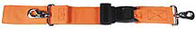 Morrison Polypropylene 2-piece Straps with Metal Push Button Buckle, Swivel Speed Clip Ends, 5'