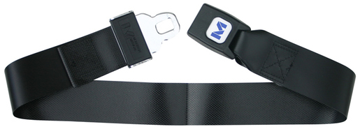 Morrison Impervious Extension Strap with Metal Push Button Buckle, Vinyl, 3'