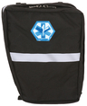 R&B EMS Bicycle AED Pannier, O2 BVM Left Side, Black