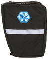 R&B EMS 6 Pocket Bike Pannier Left Side Set, Black
