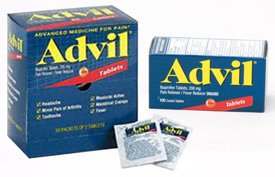 Advil, Industrial Pack, 50 2-packs