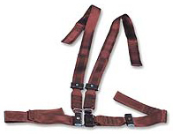 Morrison Cot Shoulder Strap Harness, Impervious, Black