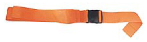 Morrison 1-piece Disposable Polypropylene Backboard Straps with Plastic Side Release Buckle, 9'