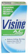 Visine A.C.<sup>®</sup> Allergy Relief Eye Drops, 1oz Bottle