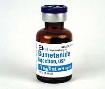 Bumetanide (Bumex), USP, 0.25mg/mL, 4mL Vial