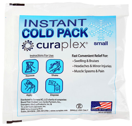 Curaplex<sup>®</sup> Cold Pack, Small, 5&rdquo; x 5&rdquo;