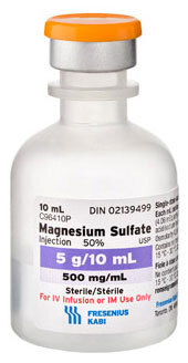 Magnesium Sulfate, 50%, 5g, 10mL Vial (Each)