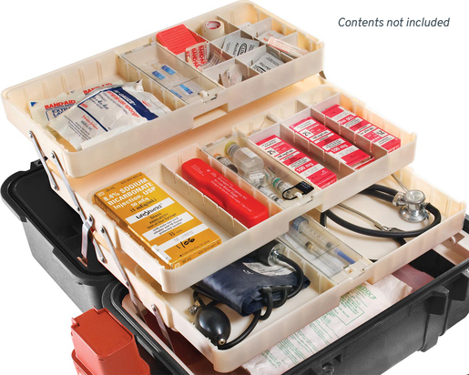 Pelican<sup>™</sup> 1460 EMS Protector Case Tray Organizing Unit Only