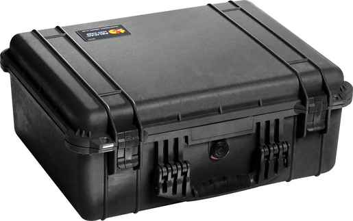Pelican<sup>™</sup> Protector Case with Pick and Pluck Dividers, Black