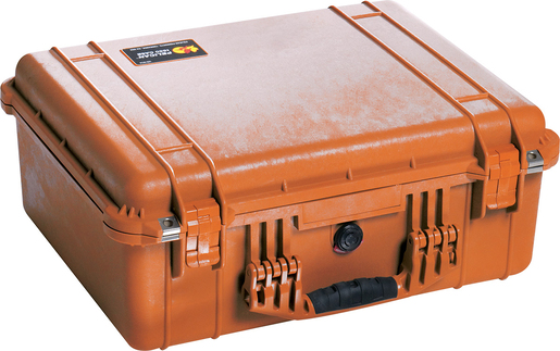 Pelican<sup>™</sup> Protector Case with Pick and Pluck Dividers, Orange