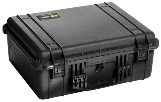 Pelican<sup>™</sup> Protector Case with Padded Dividers, Black