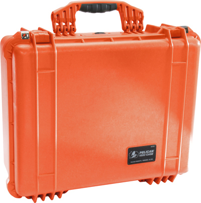 Pelican<sup>™</sup> Protector Case with Padded Dividers, Orange