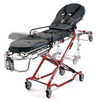 Ferno 35X PROFlexx<sup>®</sup> X-Frame Ambulance Cot with Universal Sidearms, Red