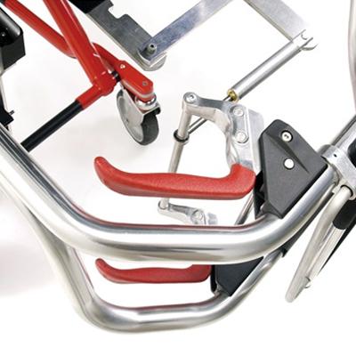 Ferno 35X PROFlexx<sup>®</sup> X-Frame Ambulance Cot with Universal Sidearms