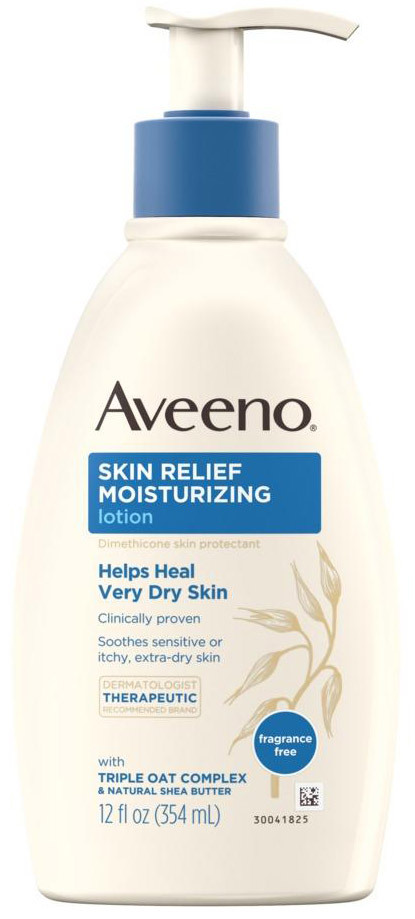 Aveeno<sup>®</sup> Skin Relief Moisturizing Lotion, 12oz Pump Bottle