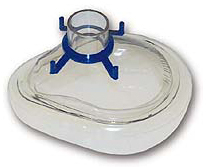 Rusch<sup>®</sup> Disposable Cushion Mask, Adult, Small