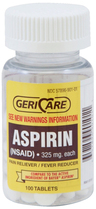 Aspirin, 100/bottle