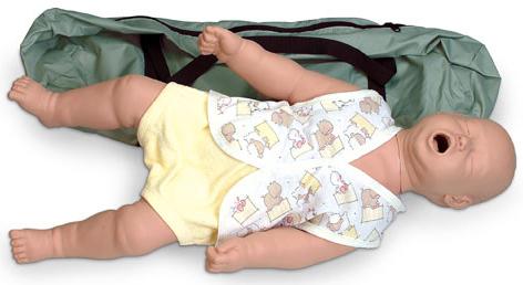 Simulaids Choking Manikin with Carry Bag