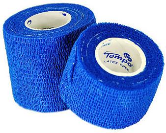 Curaplex<sup>®</sup> Cohesive Bandage, 5yd, Blue, 3&rdquo;
