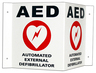 Cardiac Science<sup>&reg;</sup> Wall Sign Kit and Decals for AED