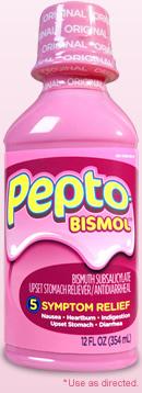 Pepto-Bismol<sup>®</sup>