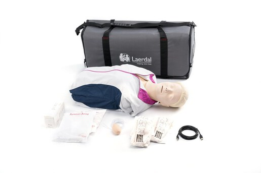 Laerdal Resusci Anne QCPR<sup>®</sup> Rechargeable Torso with Carry Bag