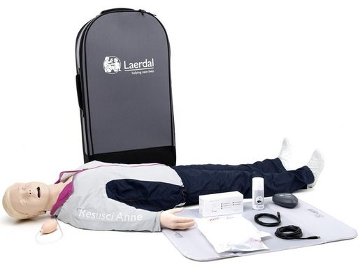 Laerdal Resusci Anne<sup>®</sup> QCPR<sup>®</sup> AED-Torso with Airway Head