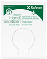 Safetec Instant Hand Sanitizer, Fresh Scent, 800mL Bag