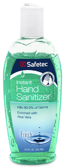 Safetec Instant Hand Sanitizer, Fresh Scent
