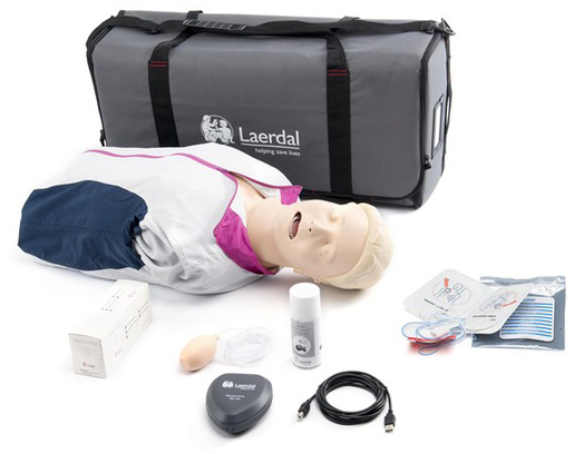 Laerdal Resusci Anne<sup>®</sup> QCPR AED Torso, Rechargeable