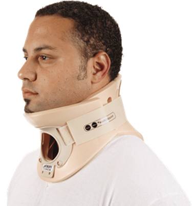 "Ossur<sup>®</sup> Philadelphia 2-piece Tracheotomy Collar, Adult, Medium, 4 1/4""H"