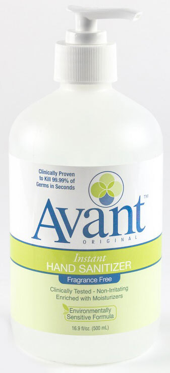 Avant<sup>™</sup> Original Instant Hand Sanitizer, Fragrance-free, 16oz Pump